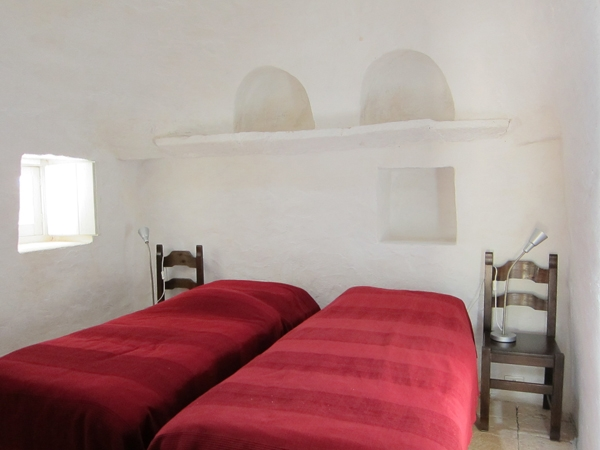 Zimmer mit Glasdach